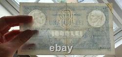 ROMANIA 1000 Lei Banknote (1920) P. 23a VF+