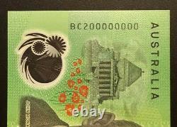 Rare 2020 SPECIMEN SERIAL $100 Note BC200000000 Perfect UNC
