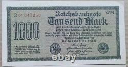 Reichsbanknote 1000 Mark 1922 Deutsches Reich 15.09.1922 Banknote Rarität