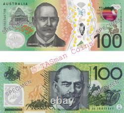 Two Generations RBA $100 Banknote Folder Old & New 2020 Australian Currency