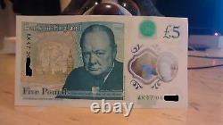 UK 5 Pounds AK47 06 Note