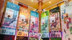 USA Seller UNC 100 Aruba Florins Banknote 2019 IBNS 2019 Award Winner