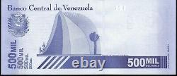 Venezuela Bolivares 2020 500,000 Set of 10 New Unc Banknotes Great Color 10 Pcs