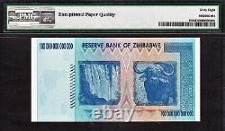 Zimbabwe 100 TRILLION Dollar AA 2008 P-91 CERTIFIED BY PMG SUPERB GEM UNC 68 EPQ
