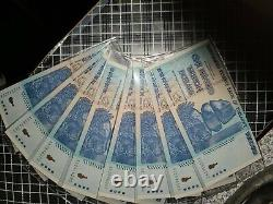 Zimbabwe 100 Trillion 2008 P 91 Series AA Uncirculated Banknote E29