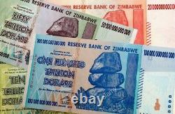 Zimbabwe Fifty Trillion $ Banknote RARE AA0- Uncirc 2008 FAST FREE DELIVERY